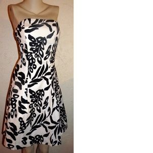 White House Black Market NWOT Print Dress